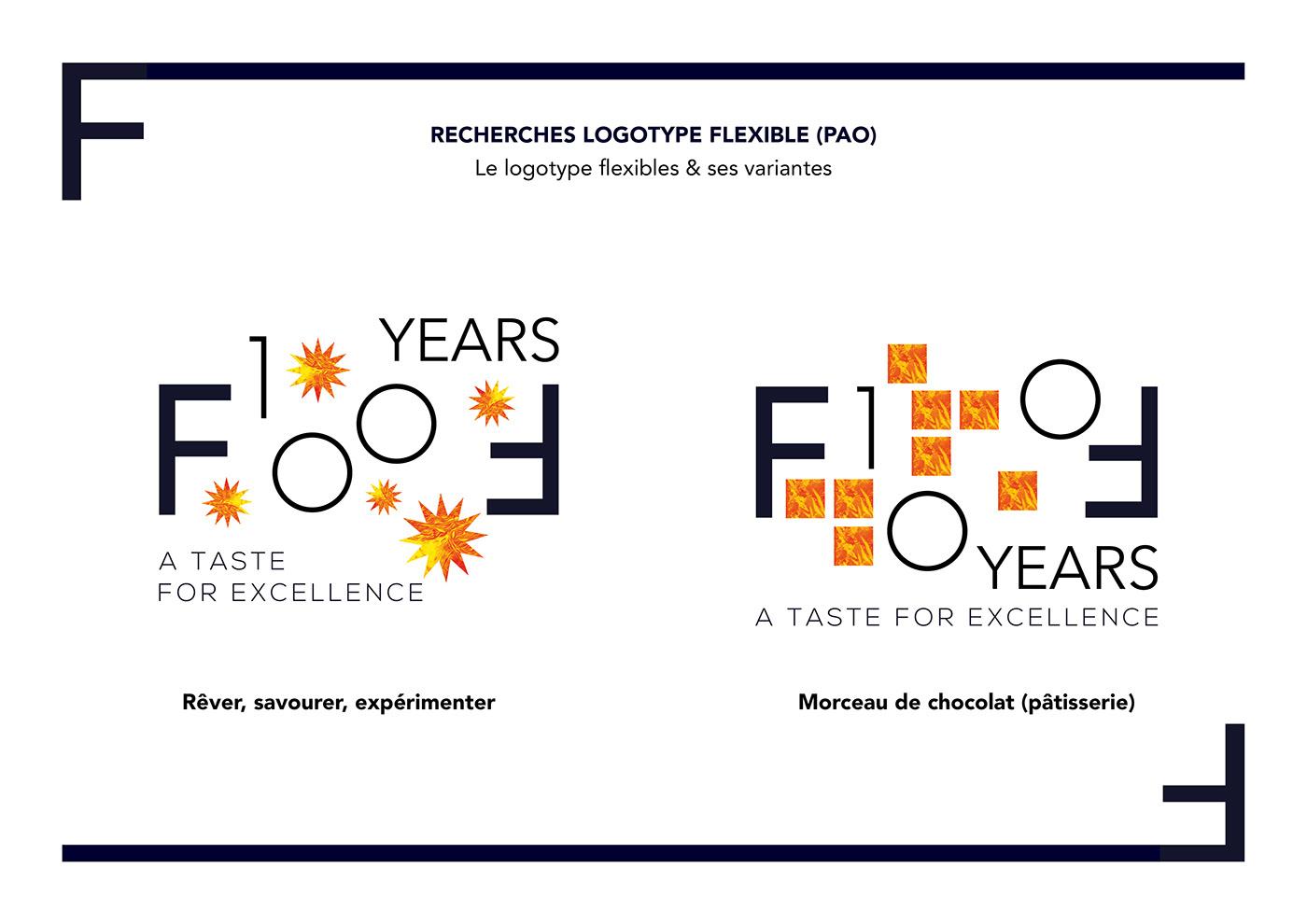 ferrandi flexible gastronomie Logotype prestige Typographie
