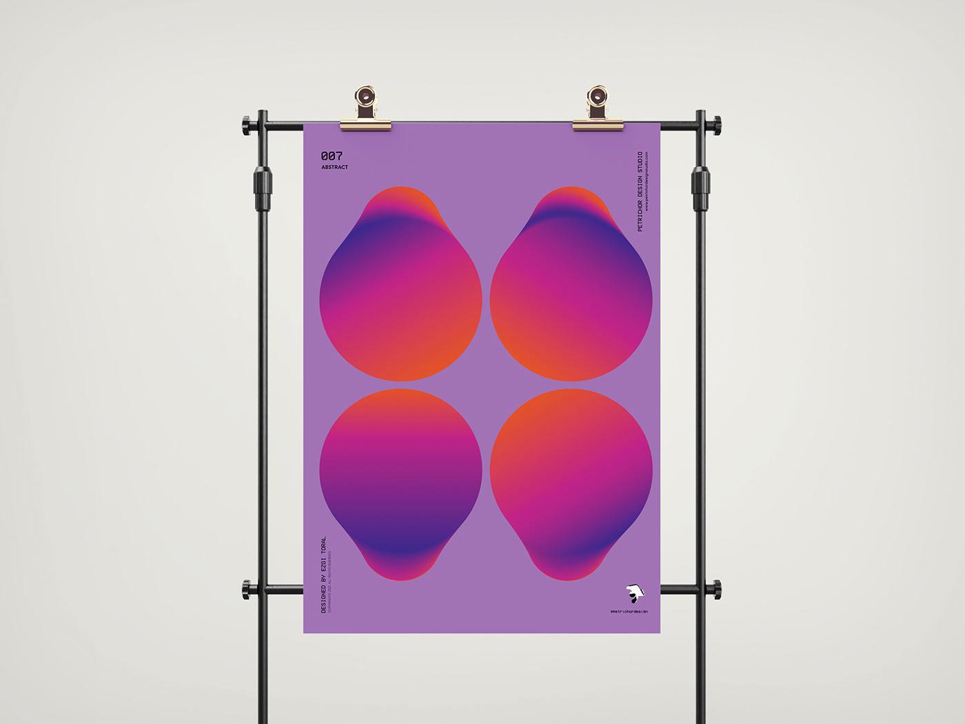 art design etsy graphic design  Illustrator petrichor Poster Design sanat shopier studio