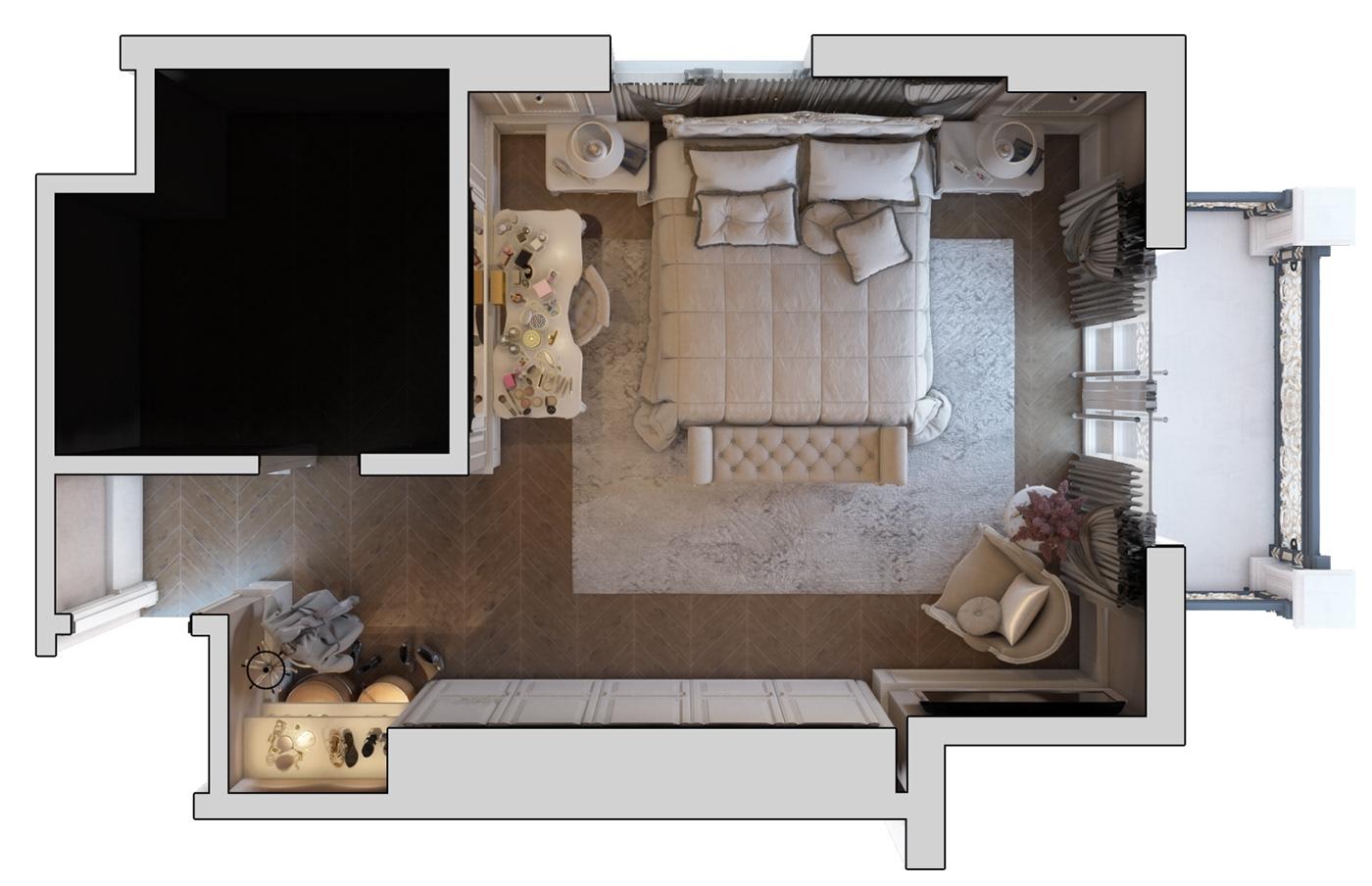 architecture interior design  graphics visualization design Interior 3dsmax vray photoshop Motaz mostafa