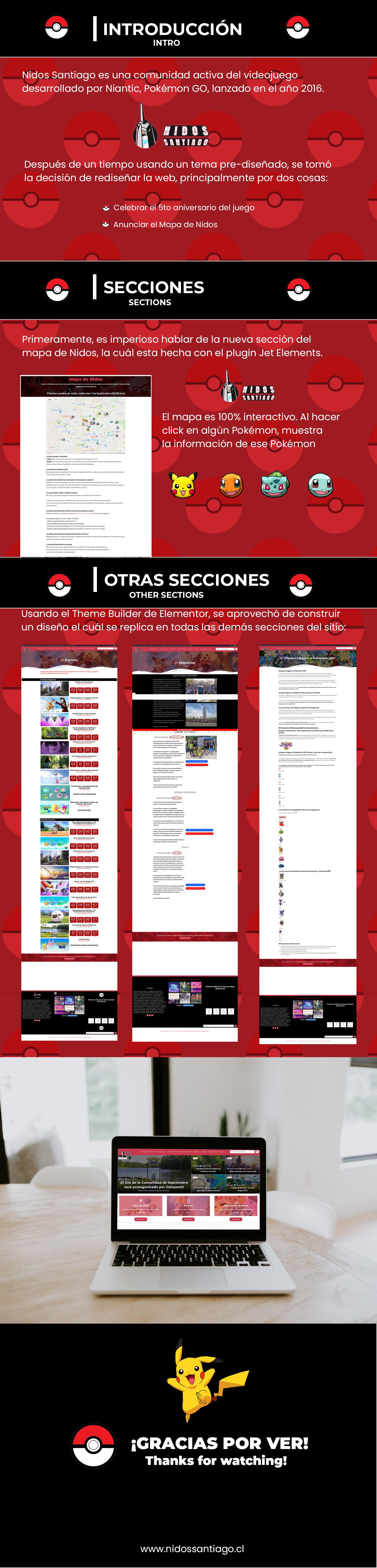 Layout Pokemon pokemon go redesign site user interface Web Web Design  Website wordpress