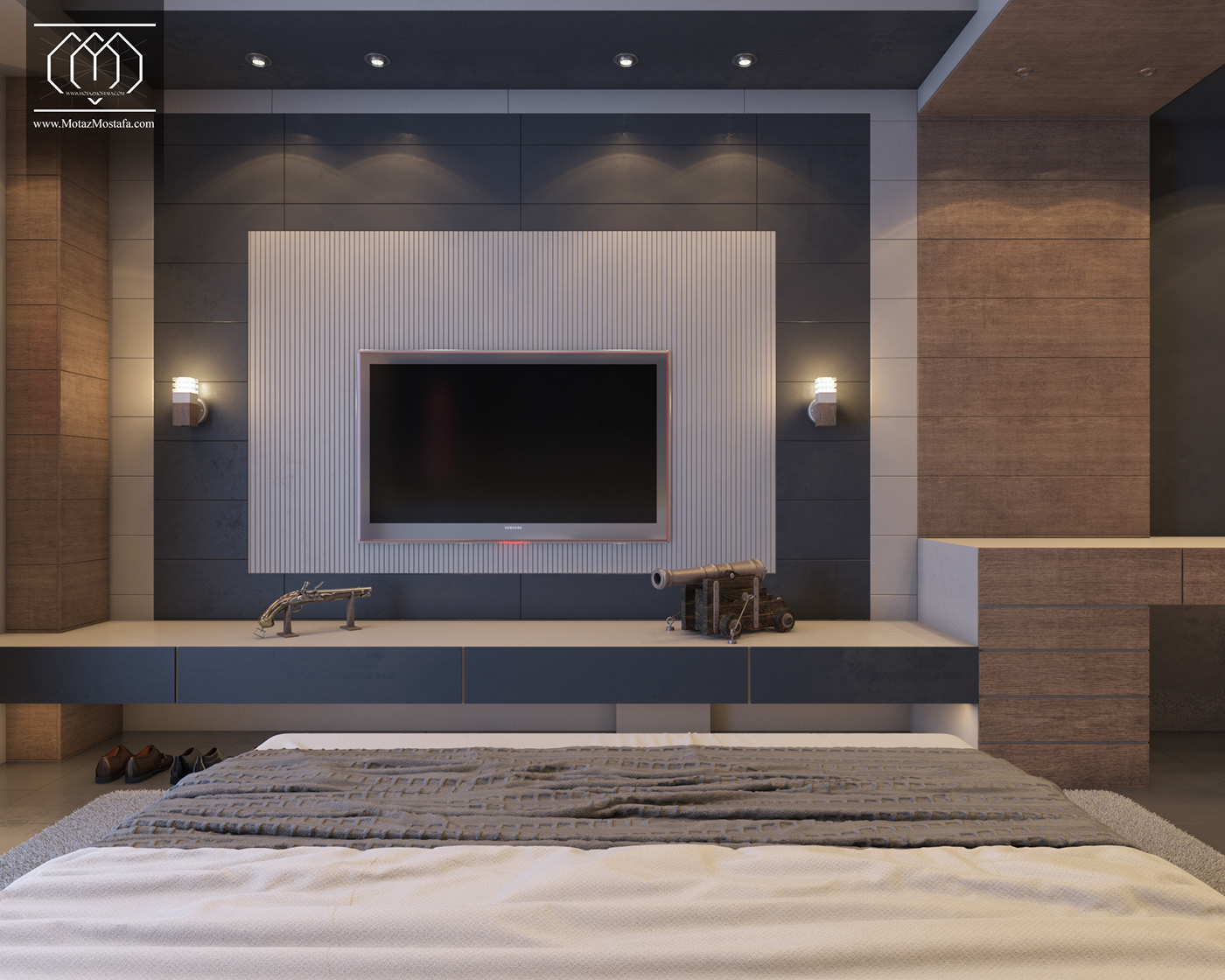 architecture interior design  3dsmax vray photoshop graphics visualization Interior design Motaz mostafa