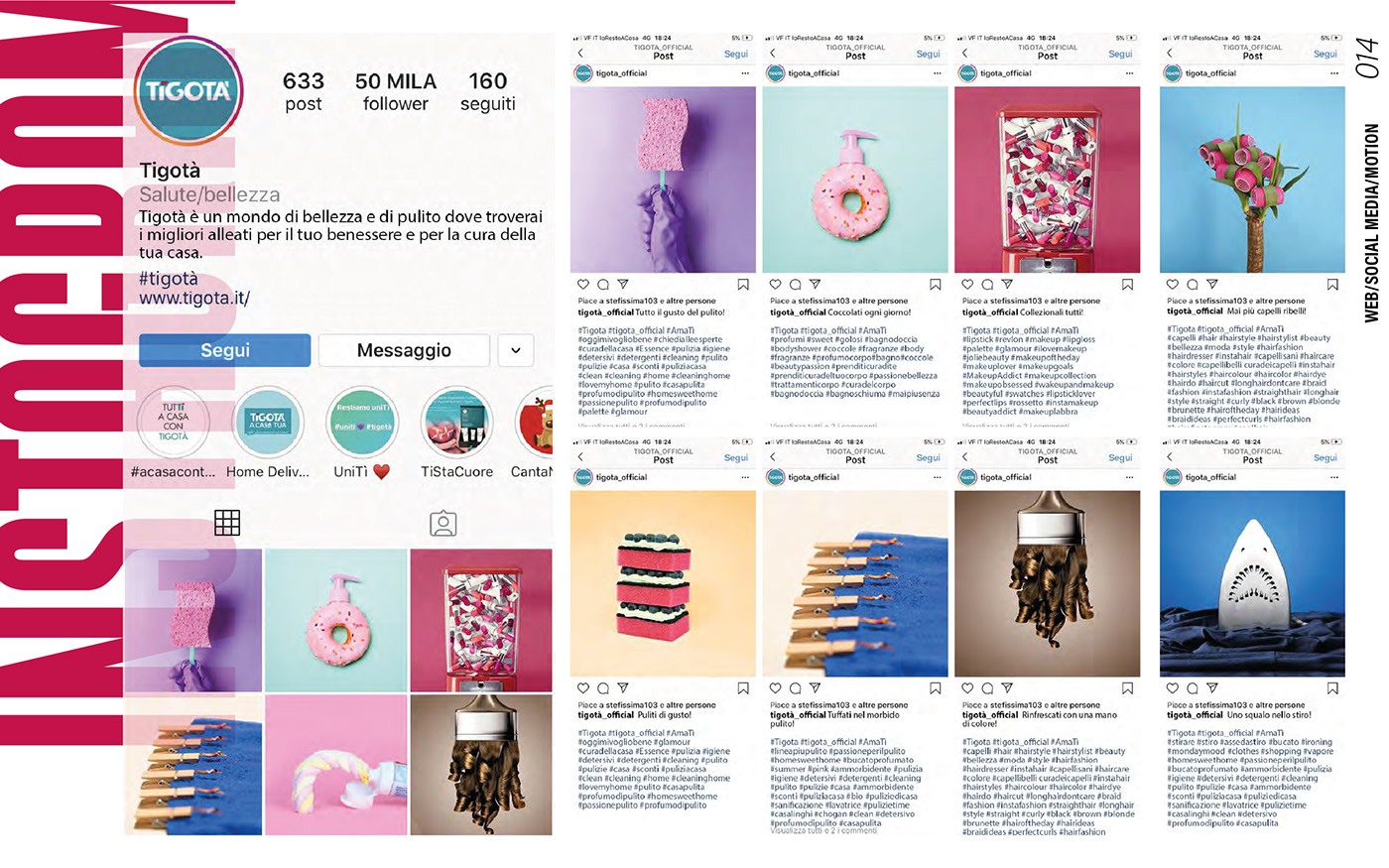 facebook instagram motion graphic social media social media strategyst UX design Web Design