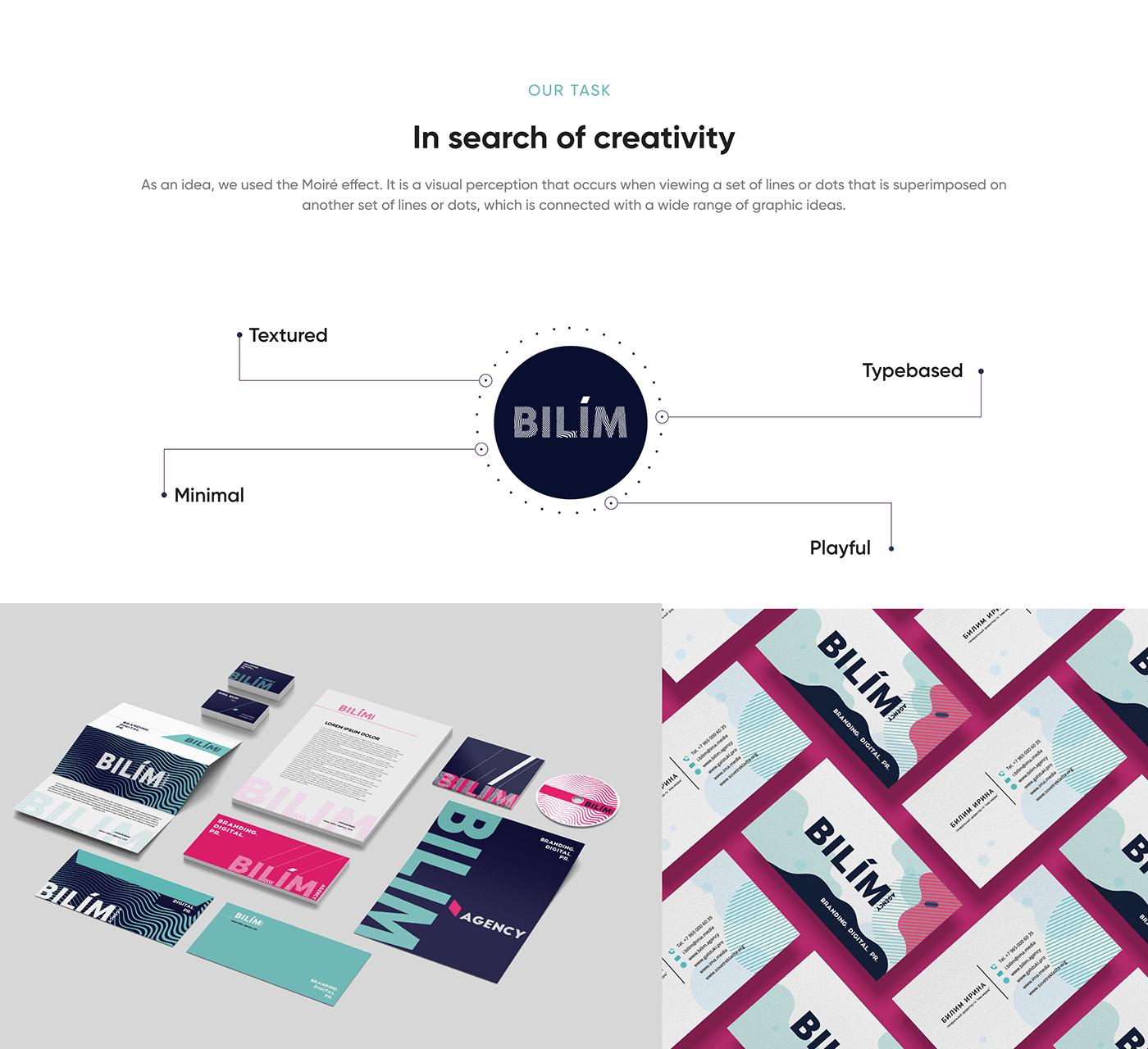 agency brand identity branding  clean identity logo logobook minimal modern typography