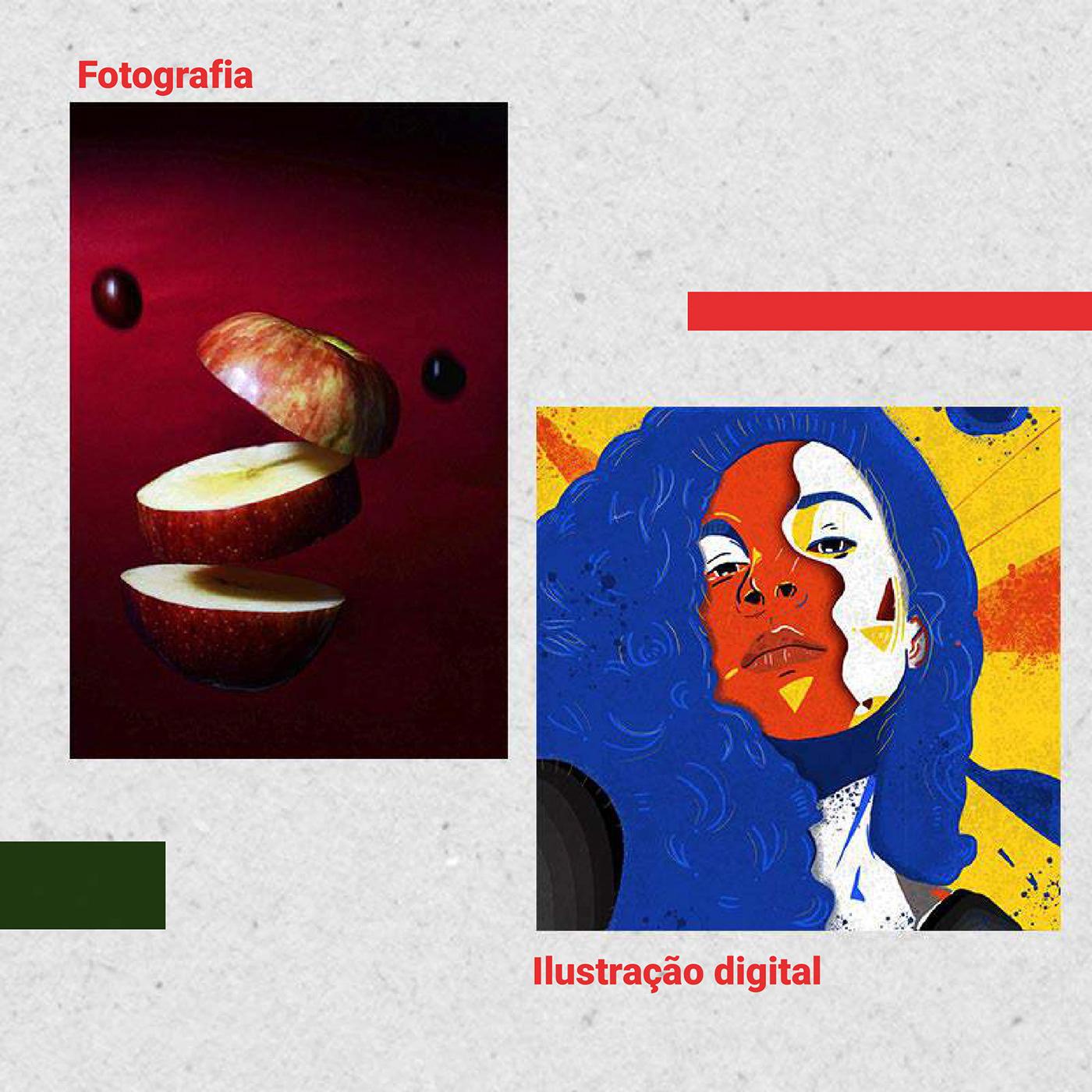 Currículo design Illustrator photoshop piblicidade Portifólio social media
