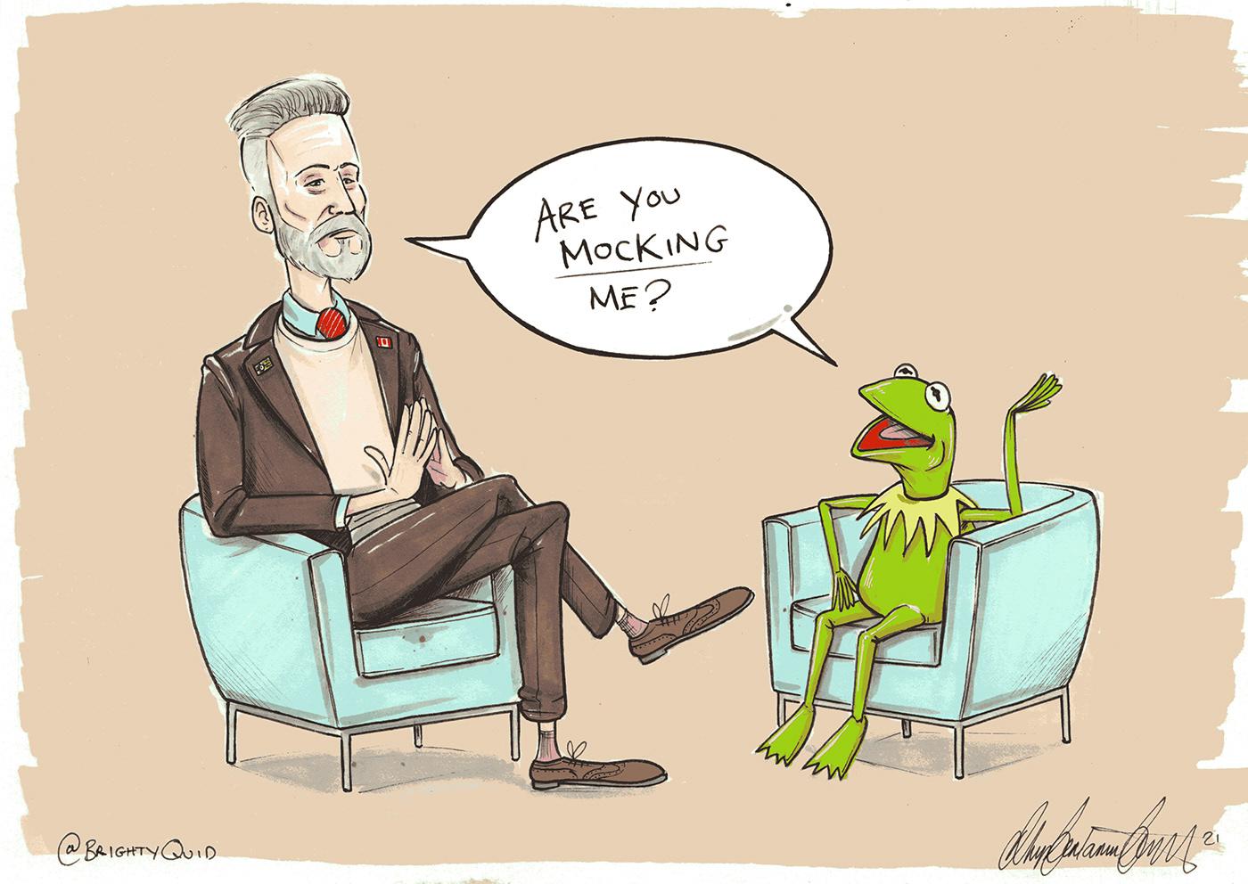 cartoon funny Jordan Peterson