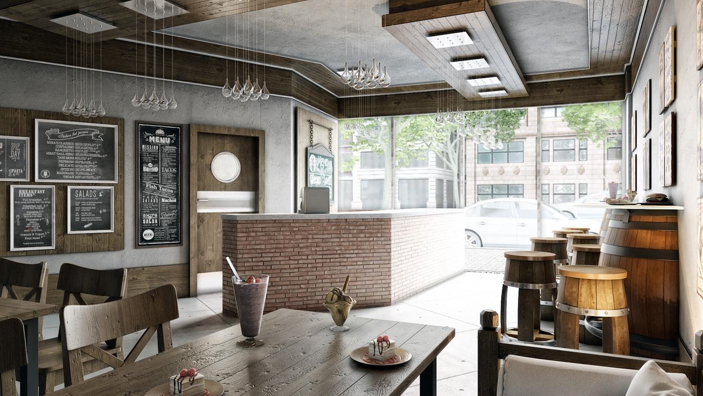 architecture Inteiror Design 3dsmax vray photoshop graphics visualization Interior design Motaz mostafa
