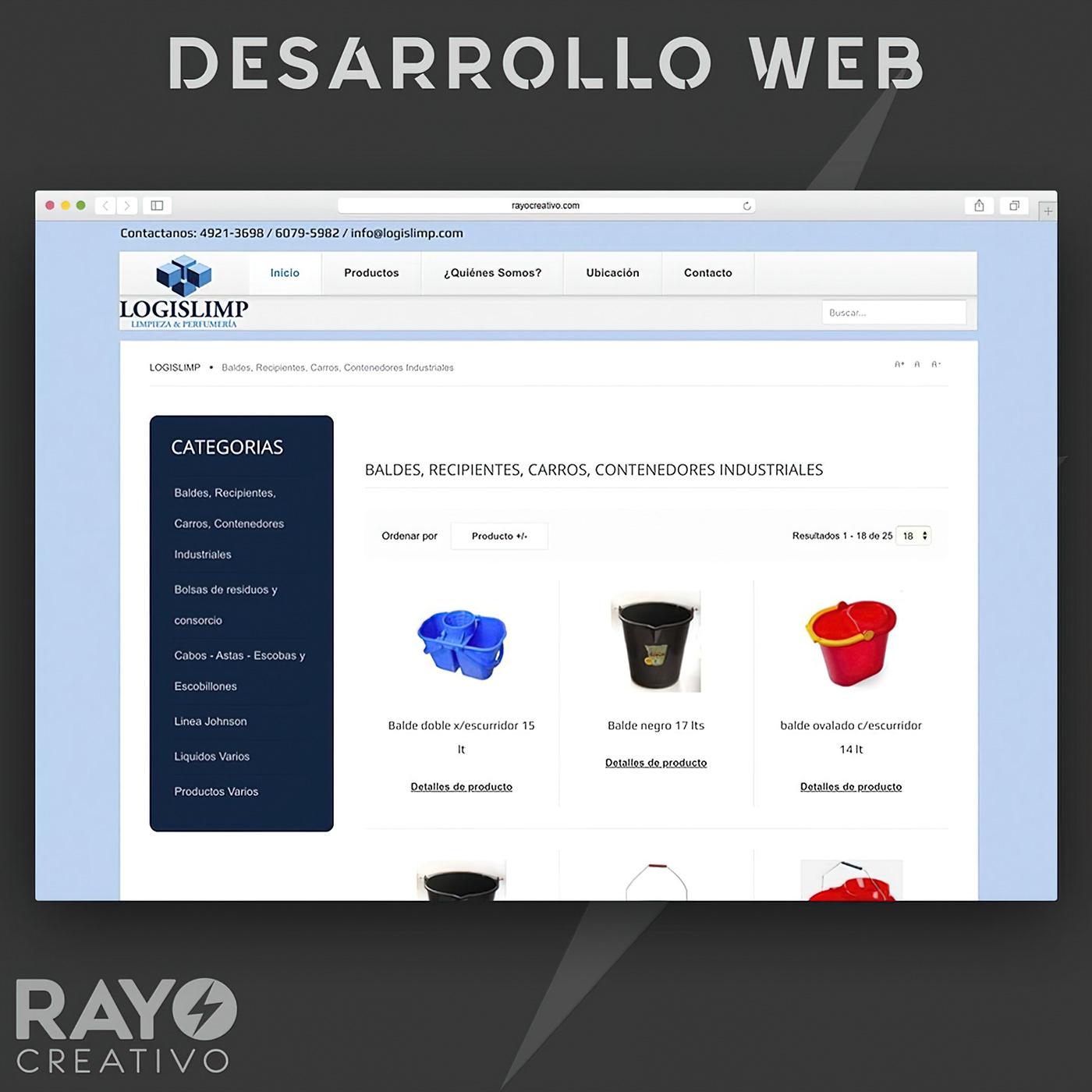 desarrollo web Diseño web e-commerce Ecommerce Responsive sitio web store tienda virtual Website wordpress