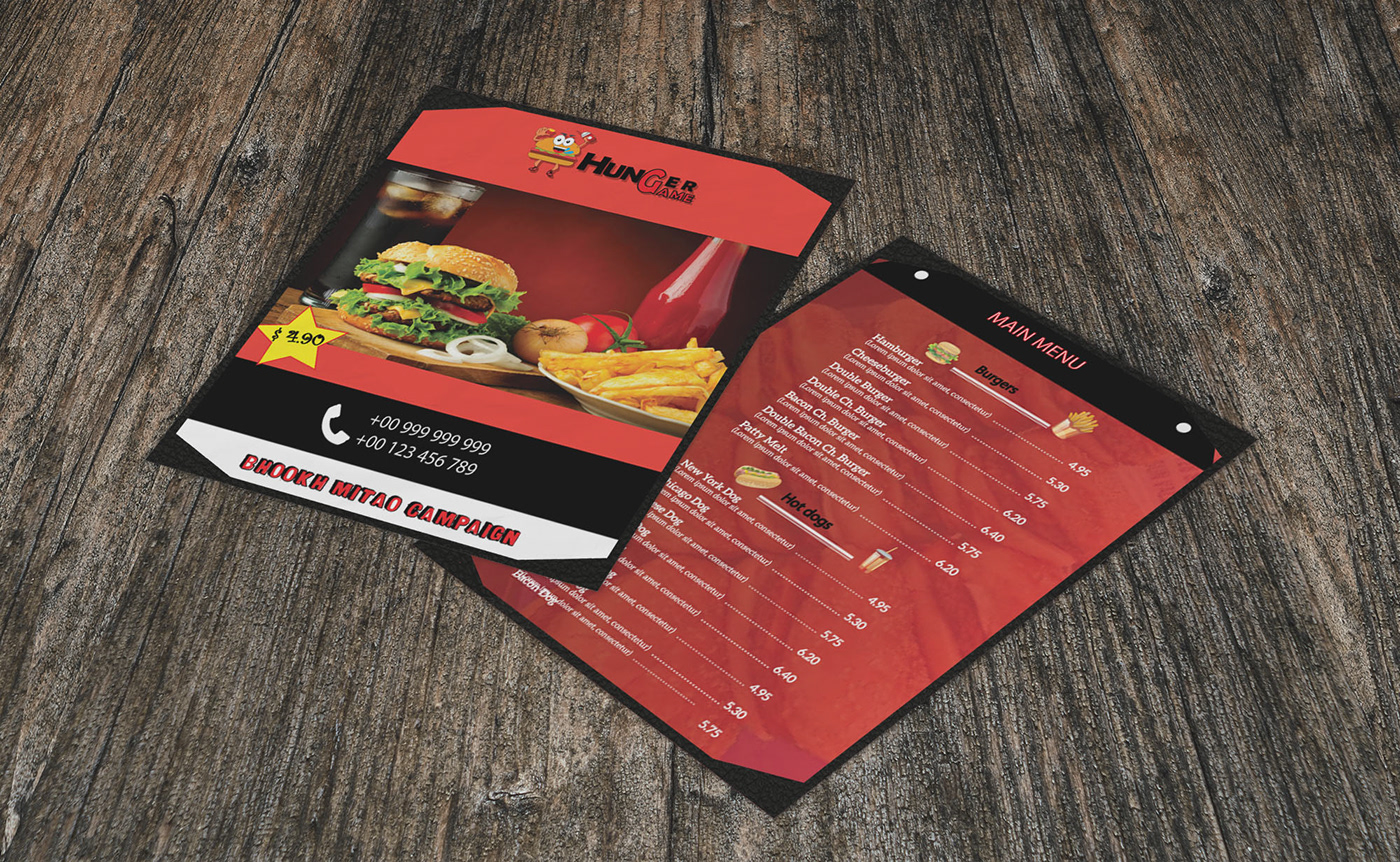 Image may contain: menu, food and fast food