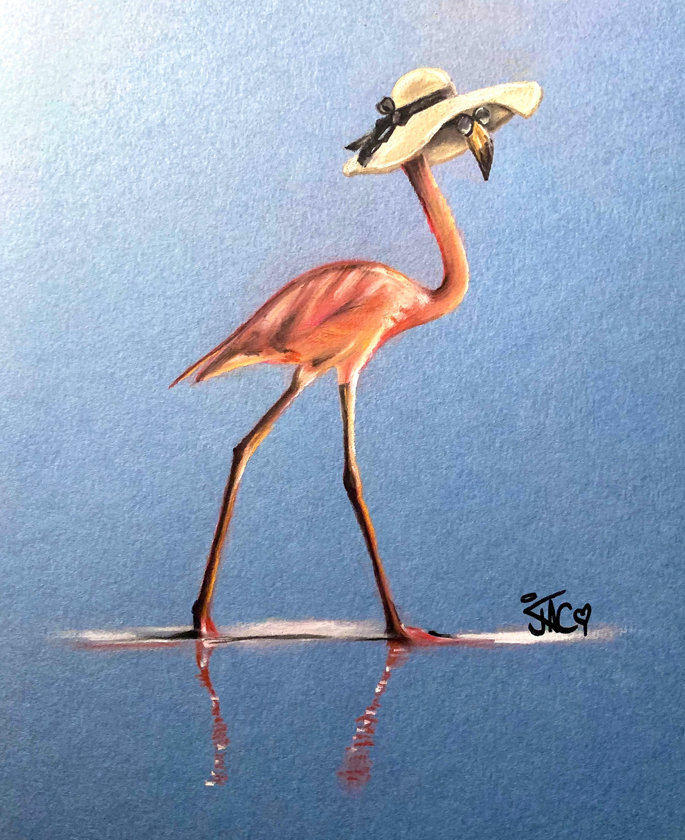 animals cute Drawing  funny painting   pastel pets portraits wildlife