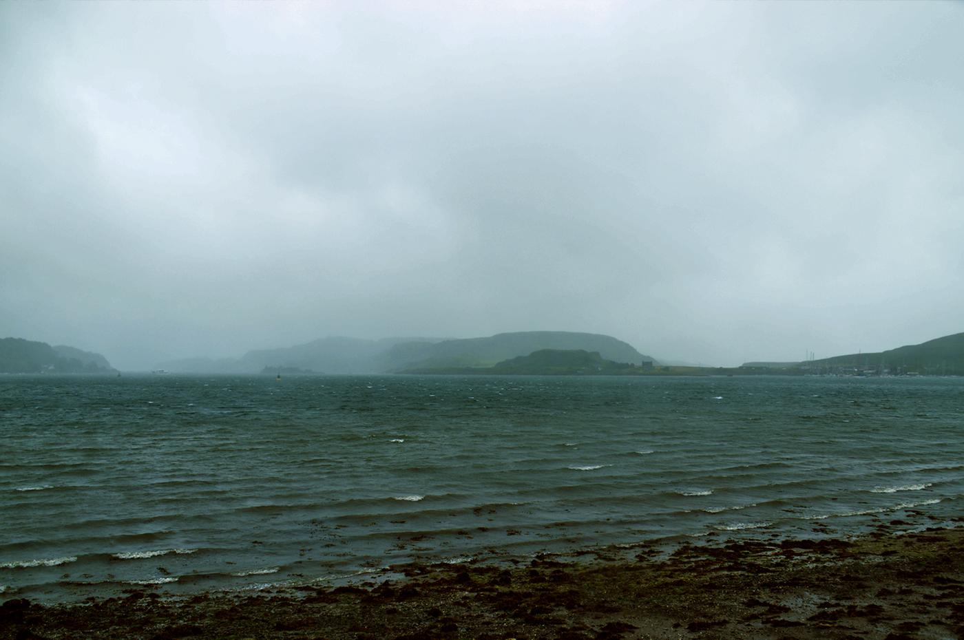 Oban, summer weather...