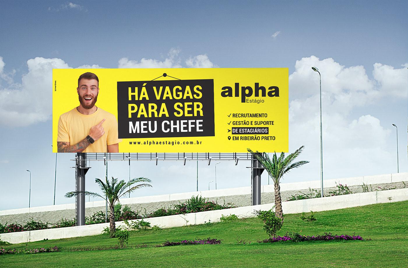 campanha de estagio campanha de outdoor estágio marketing   publicidade