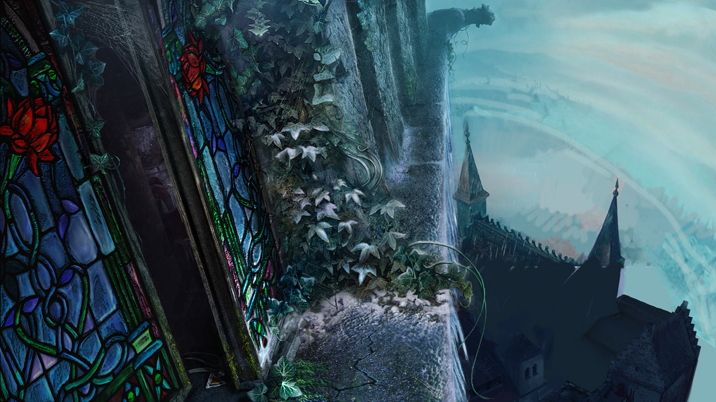 art Bacground fantasy ILLUSTRATION