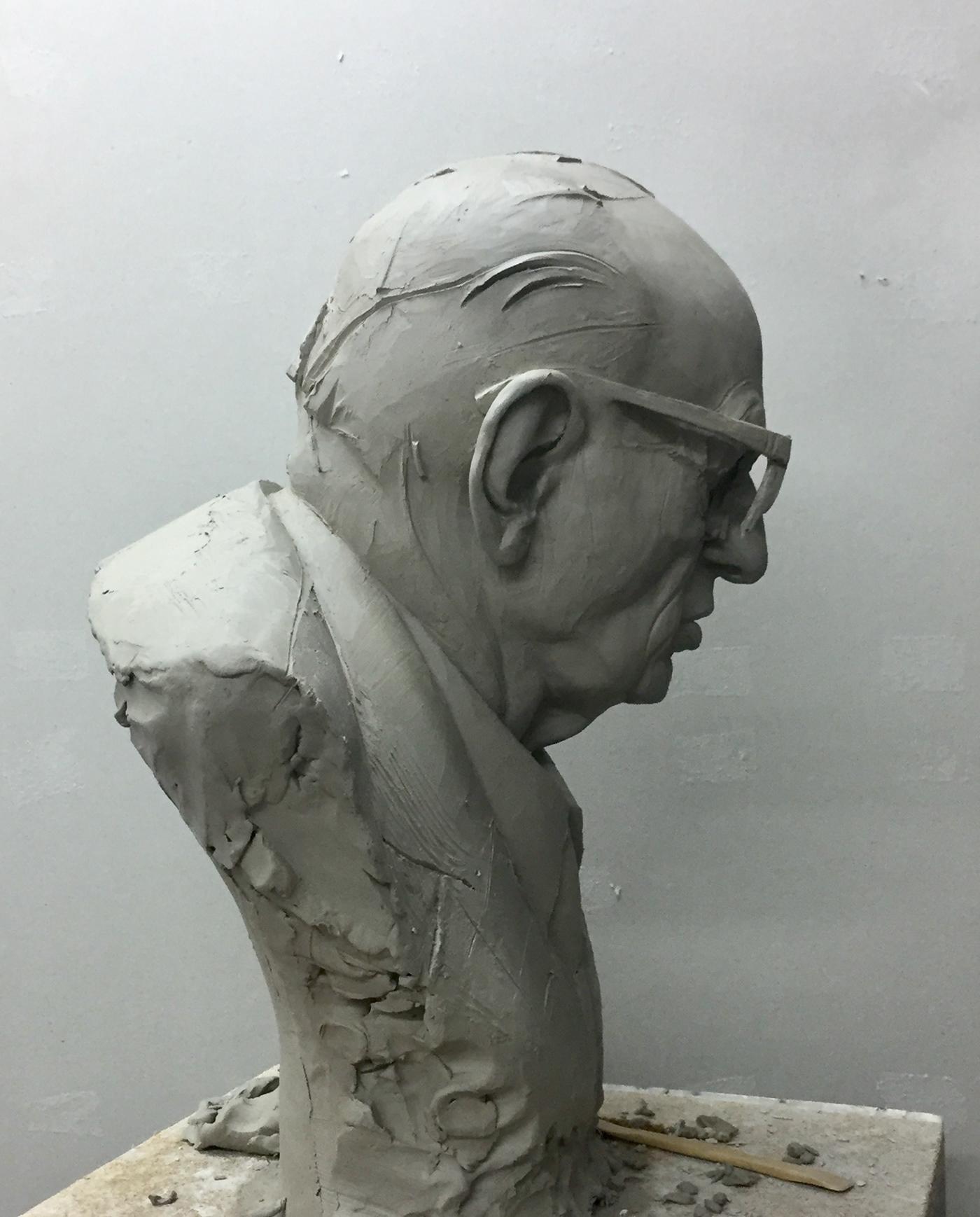 Character Character design  sculpture