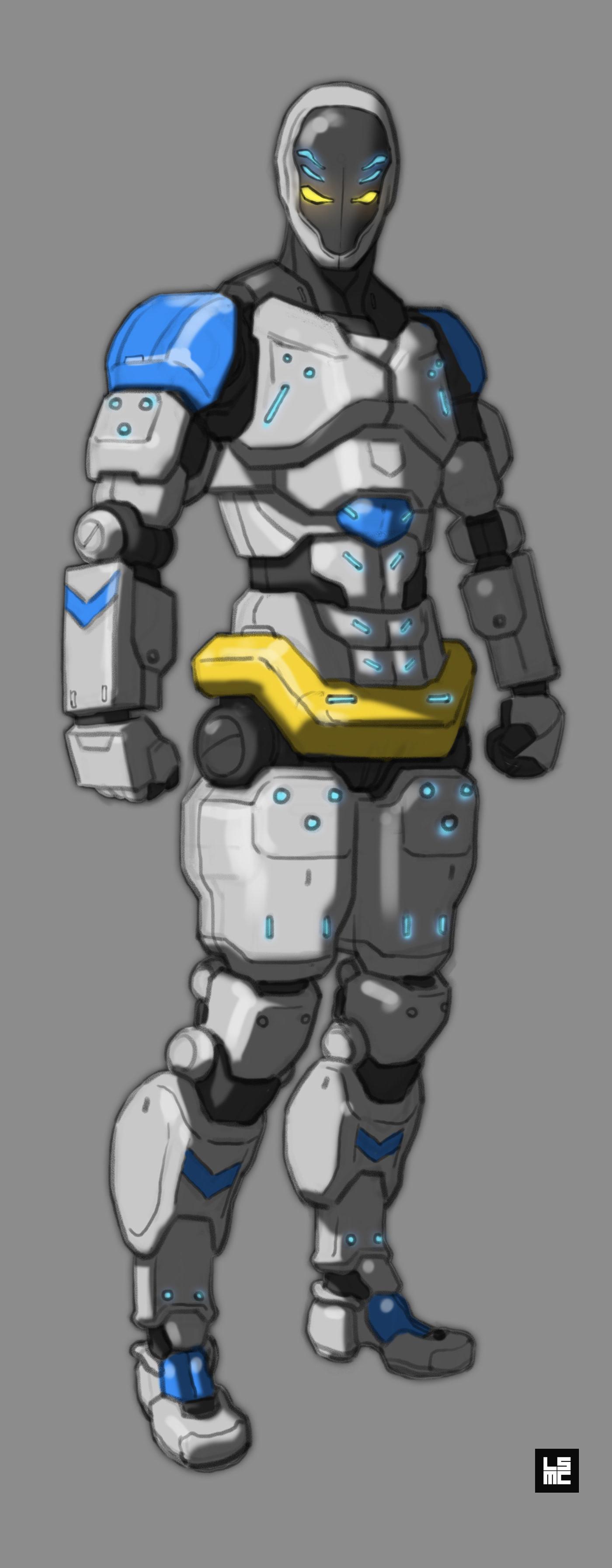 robot Character design  concept design Cyberpunk Film   future Korea LSMC Mechanic SF