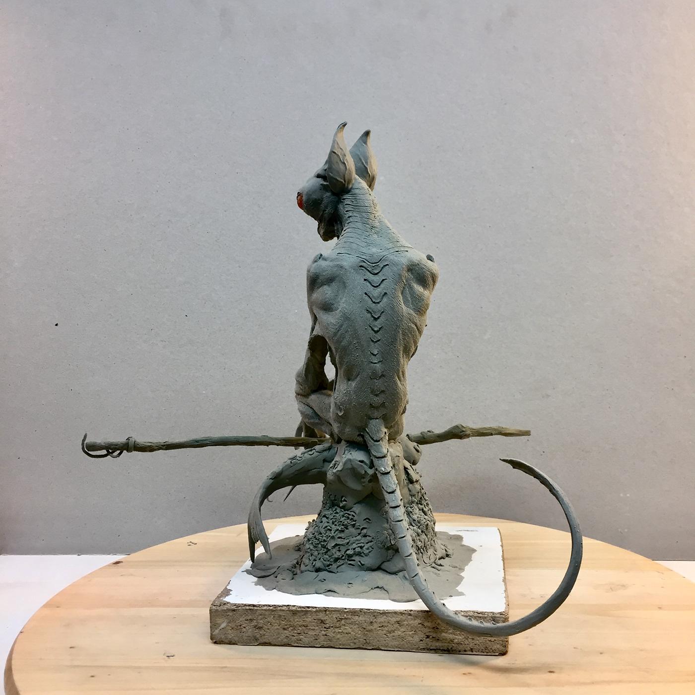Character creature designer monster sculptor