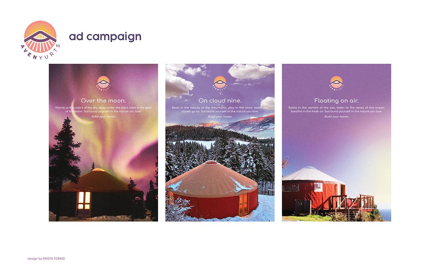 brand identity brandiing graphic design  logo Logo Design yurts