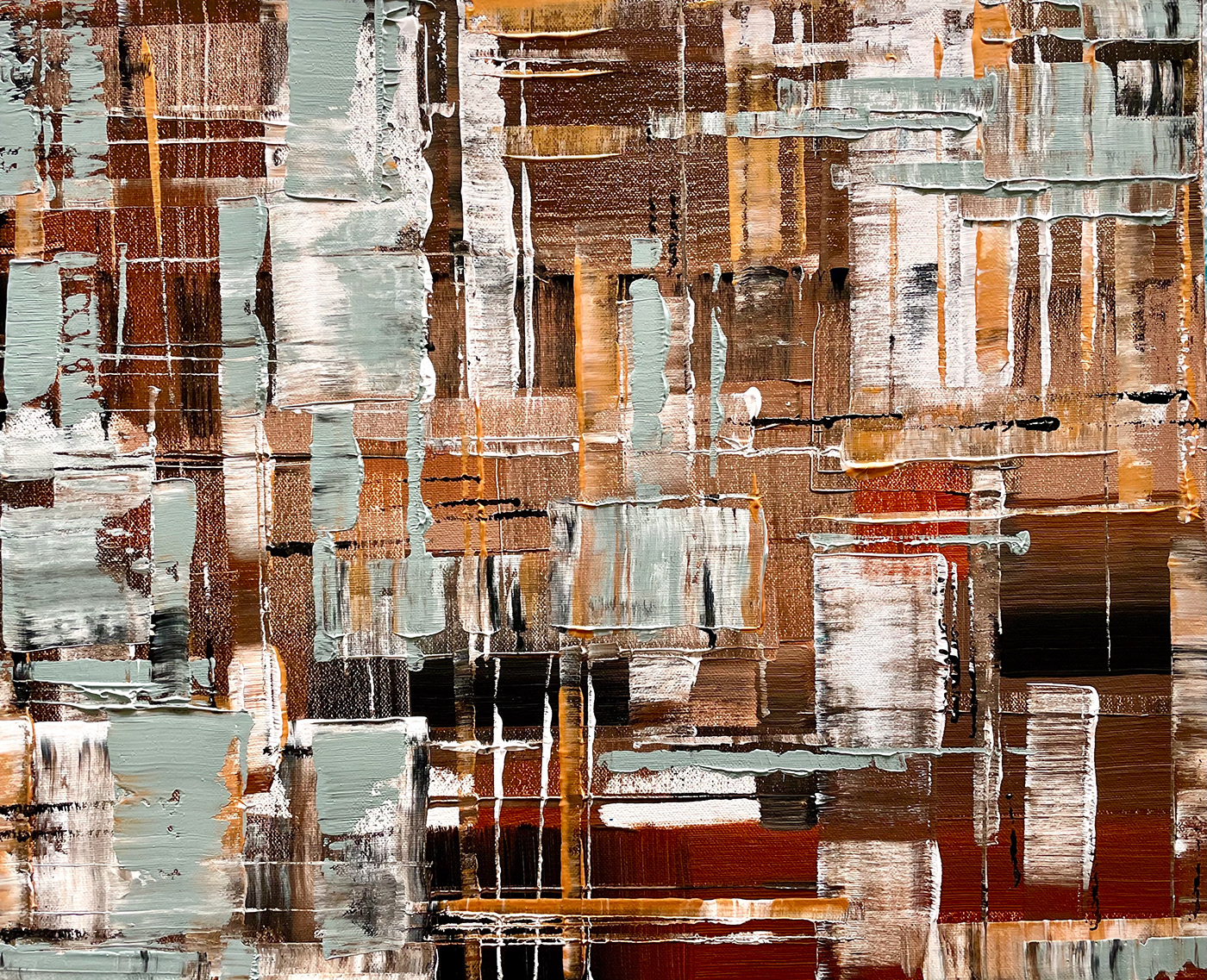 abstract acrylic canvas wall art