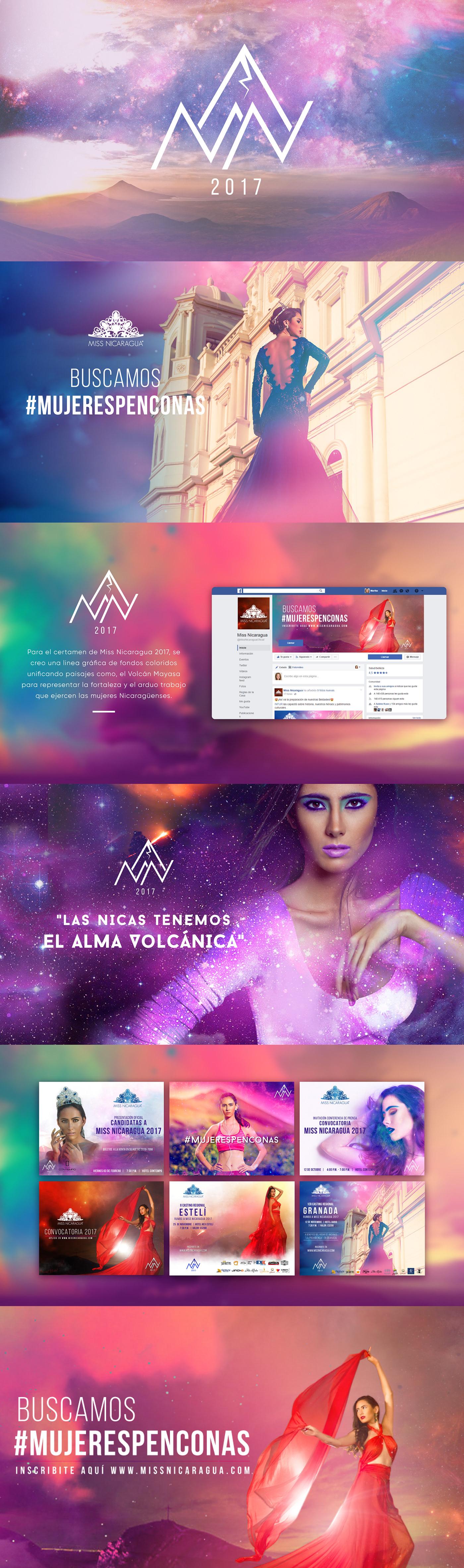 Branding Digital agency agencia de publicidad Nicaragua Bold Creativity miss universe miss Film   motion graphics