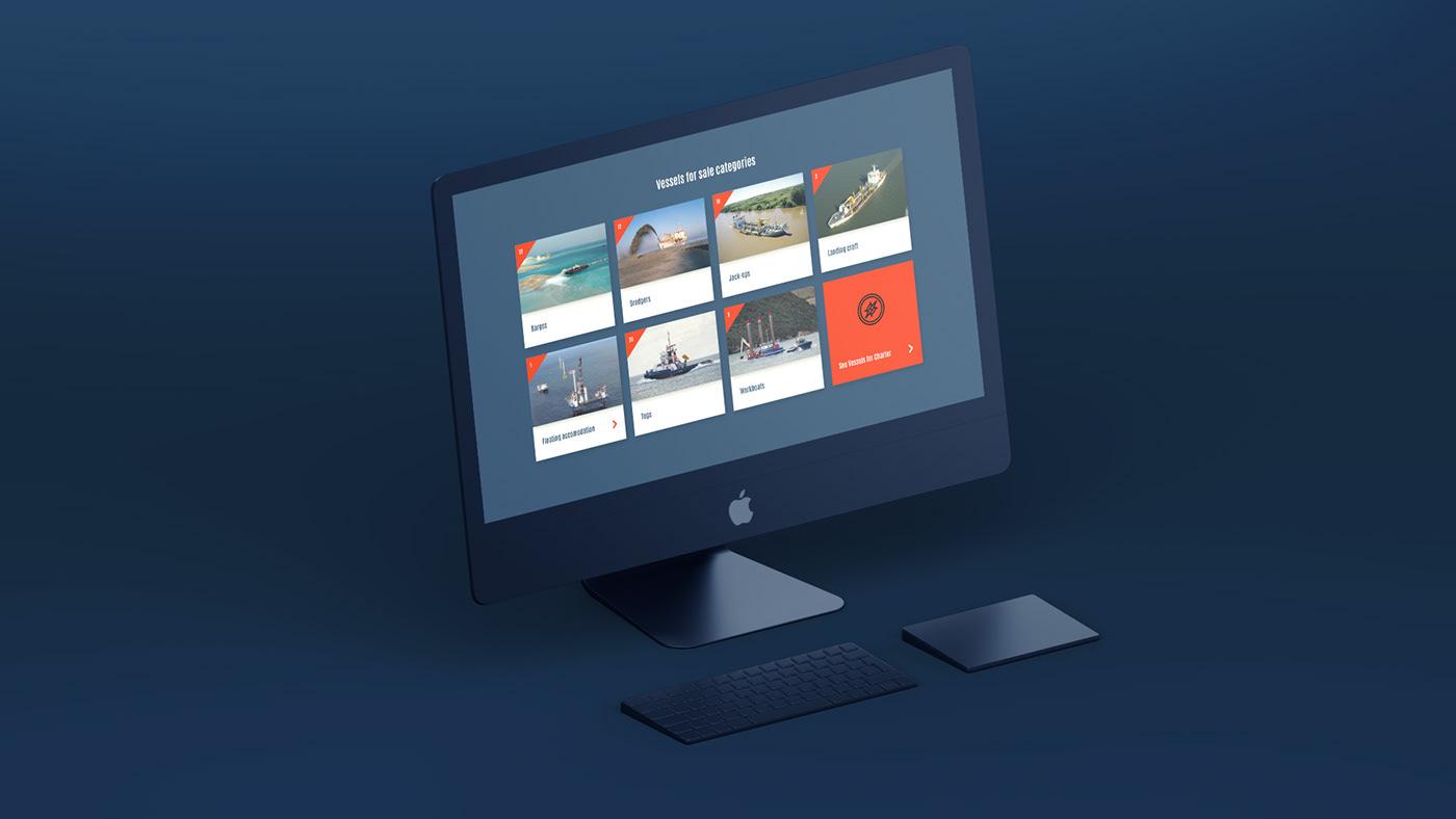 Website Design Website graphic design  UI ux worcester birmingham DSB Offshore