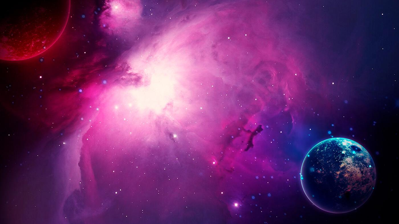 art digital photo Space  stars