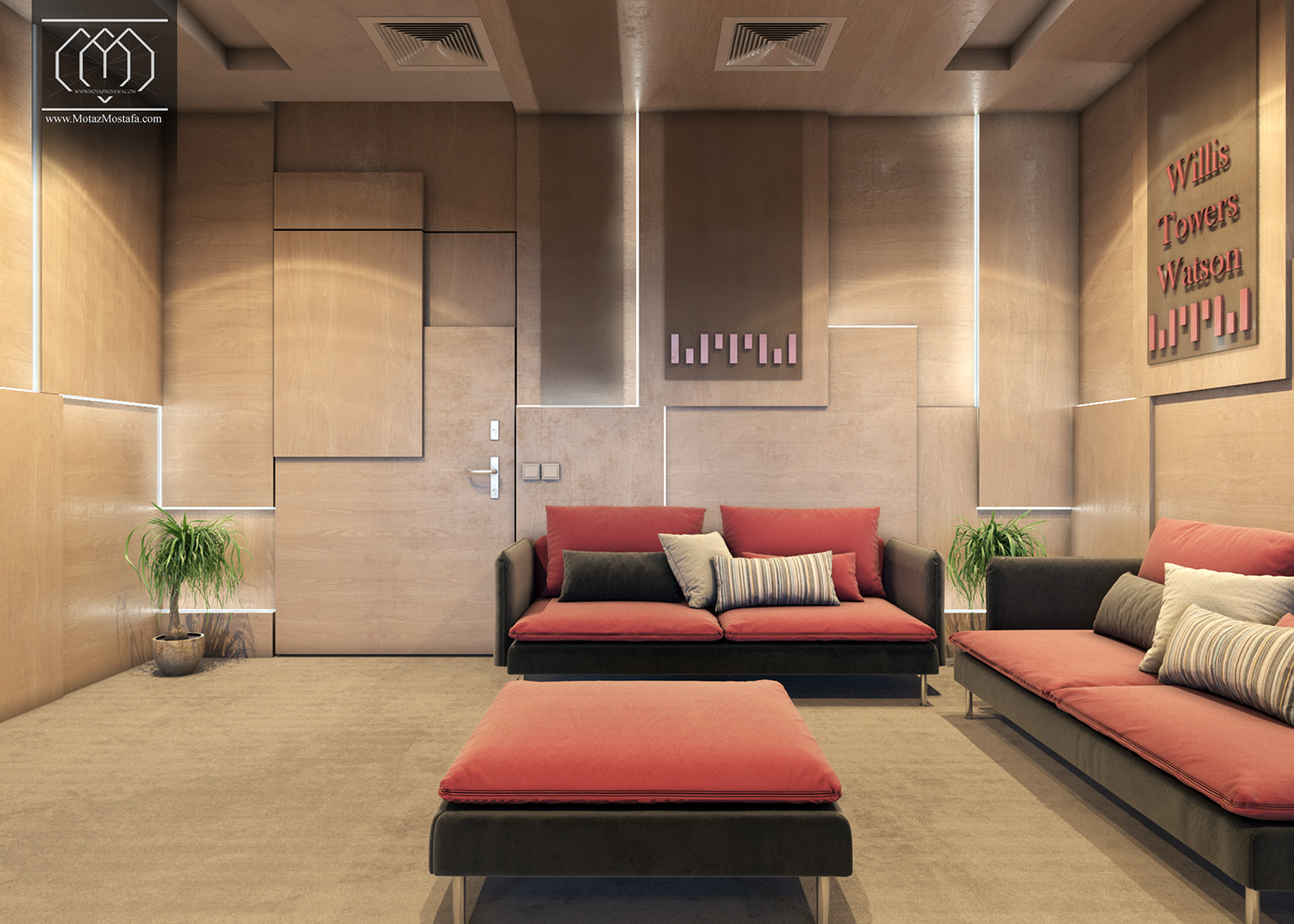 architecture interior design  visualization vray 3dsmax graphics creative design Motaz mostafa Interior