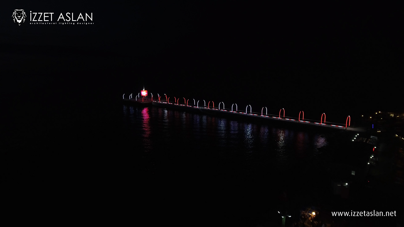 Image may contain: water, lake and bridge