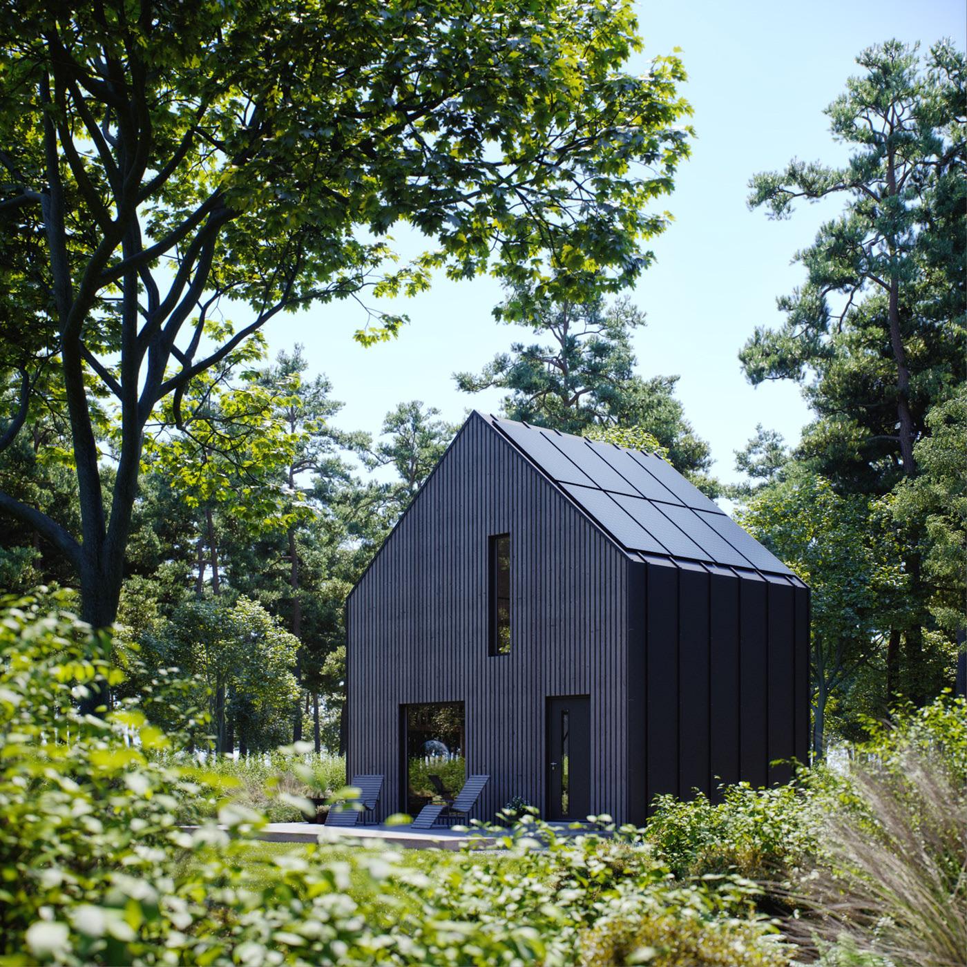 Modulo House Small House Big Idea