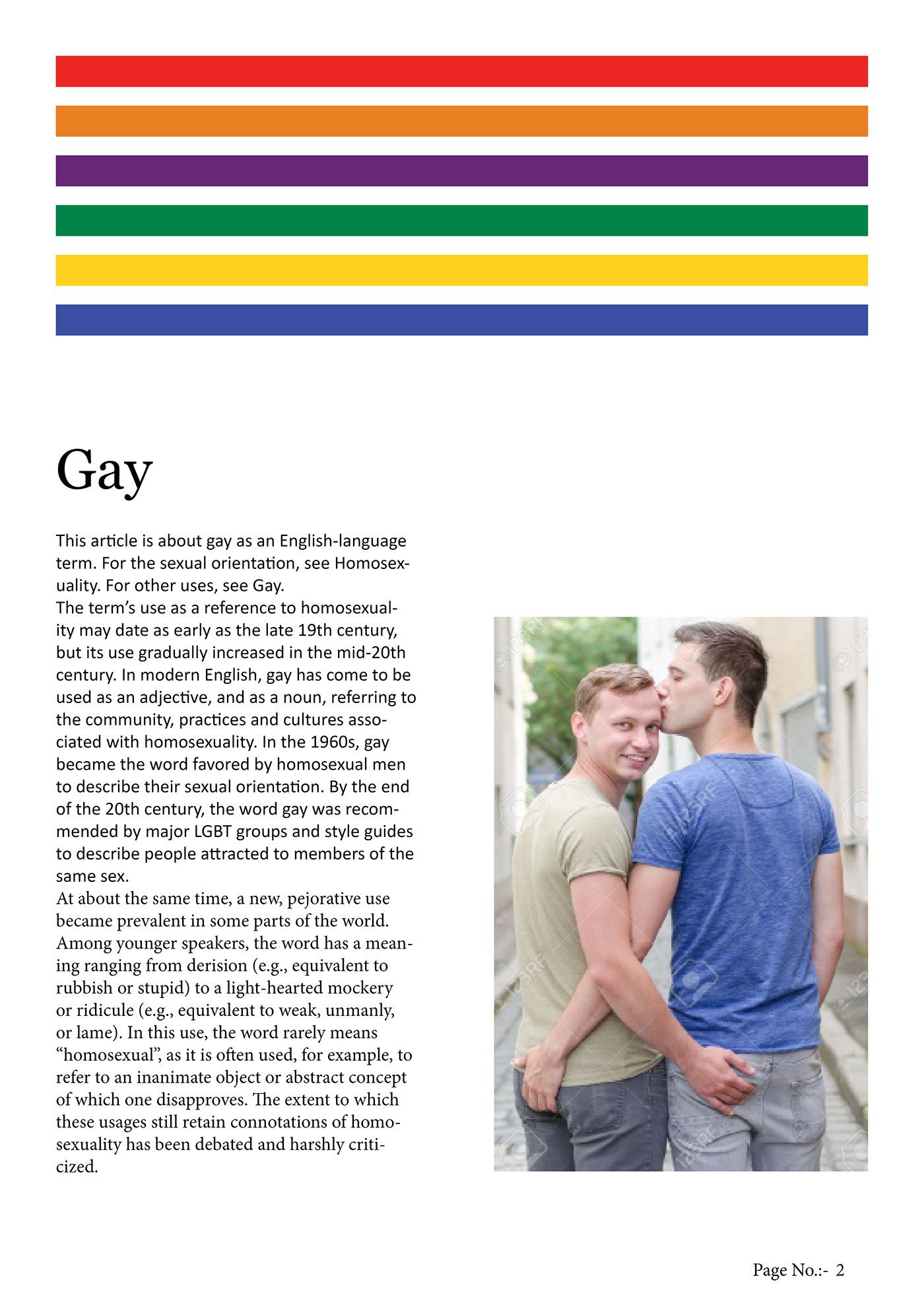 How gay got its rainbow