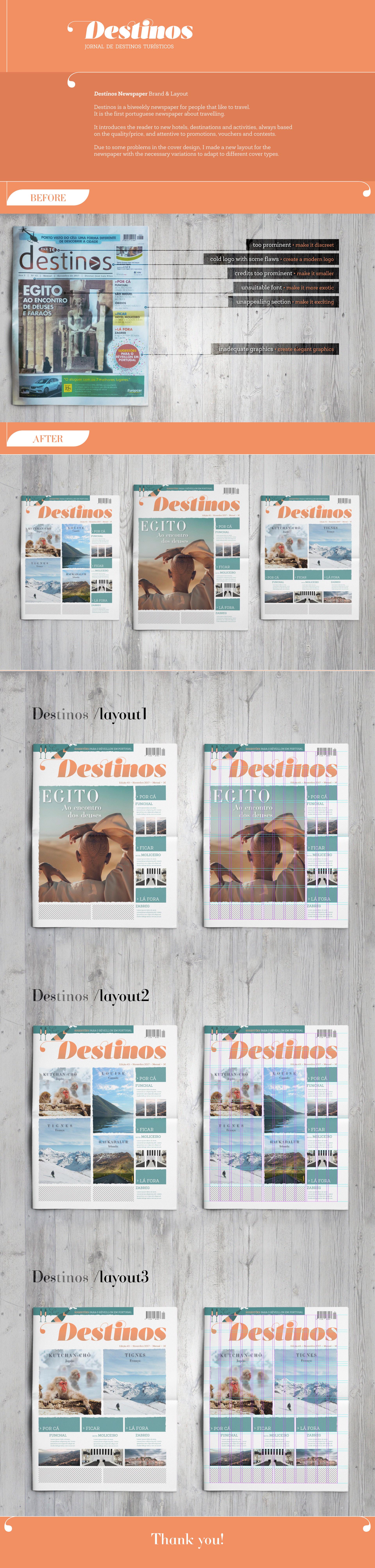 Jornal Destinos - Project