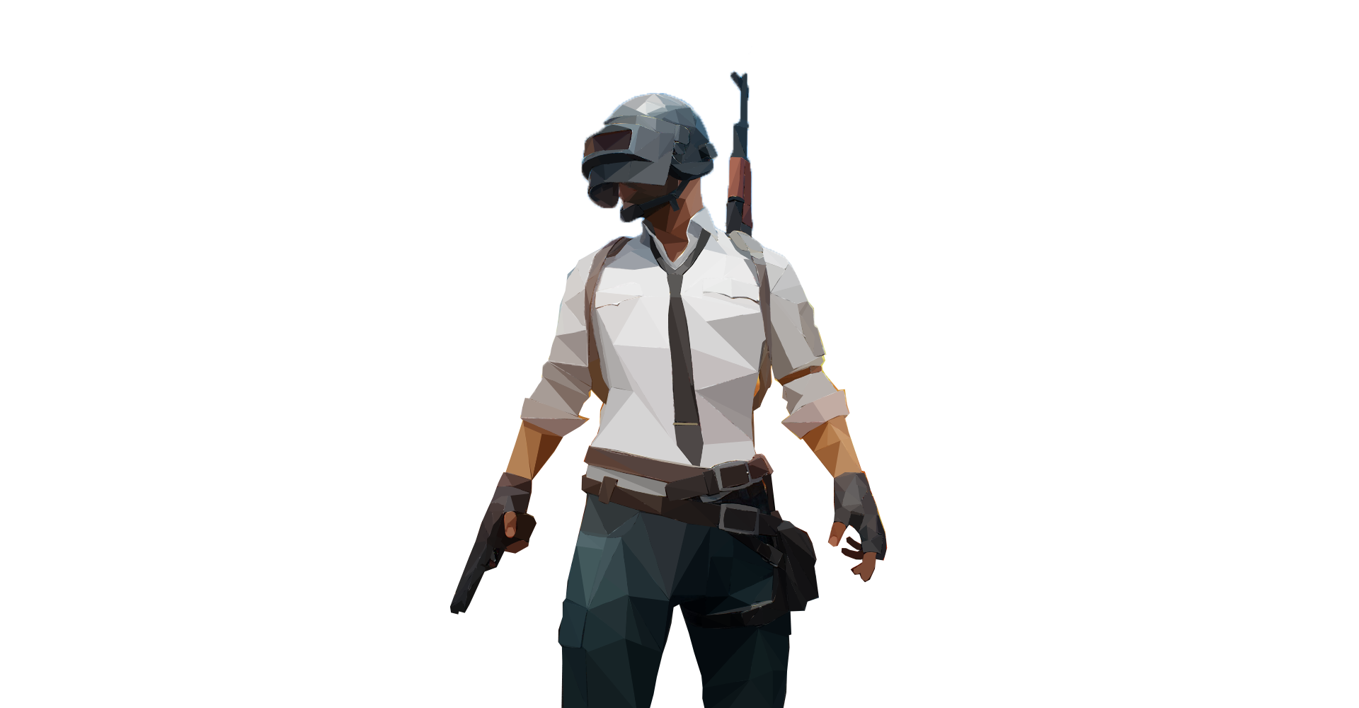 Third Low-Poly Art (PUBG)