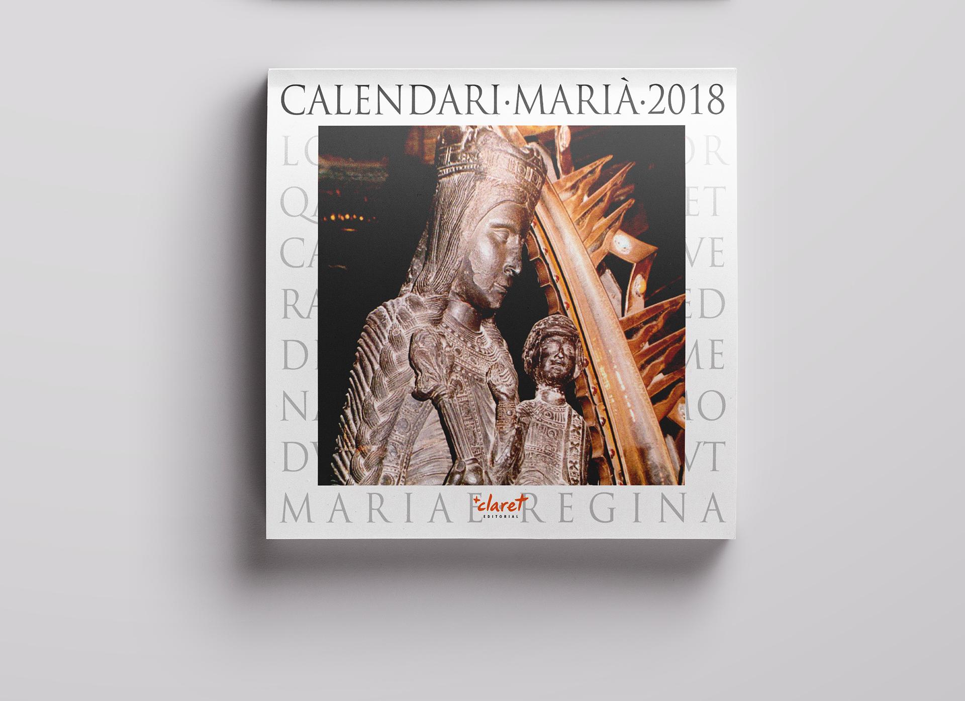 Cubierta del calendario mariano
