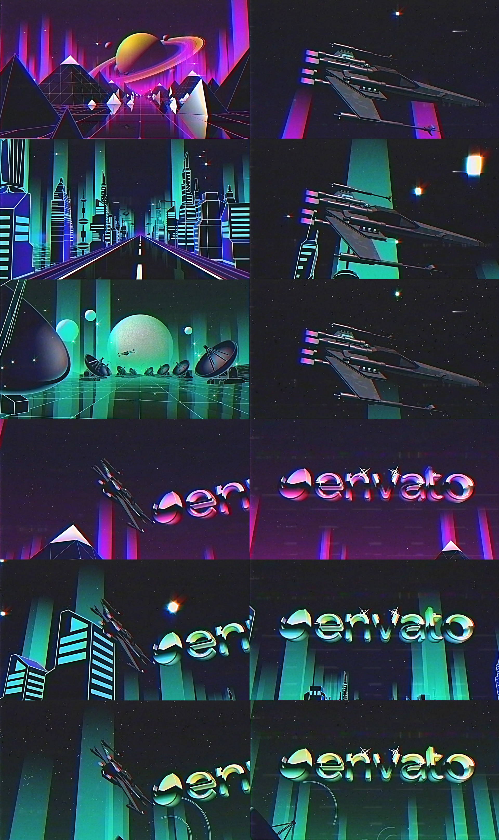 80's Retro Logo Reveal Pack Vol.5 - 1