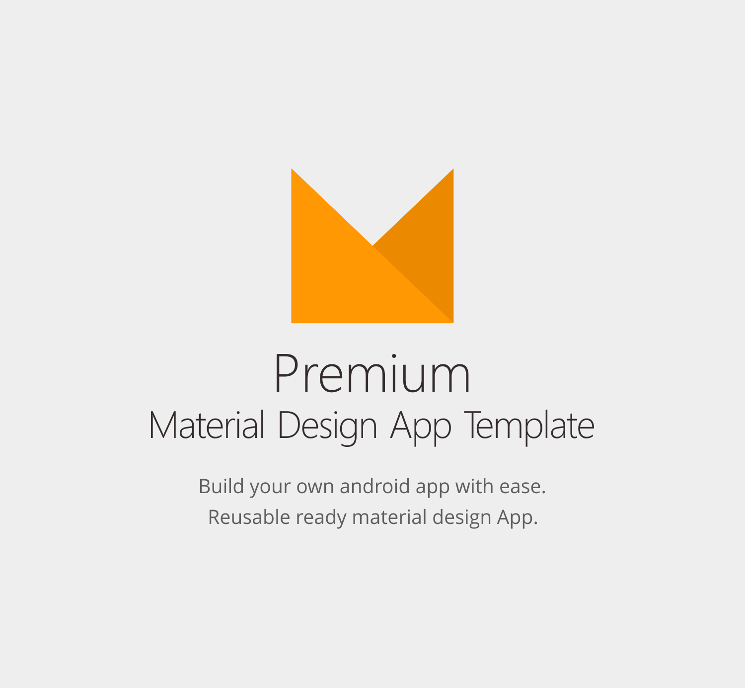 Android Material UI Template 4.0 - 1