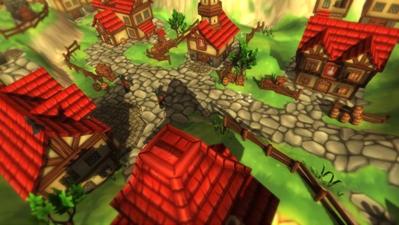 Fantasy Vilalge - maya, unity, 3D - juliastorybored | ello