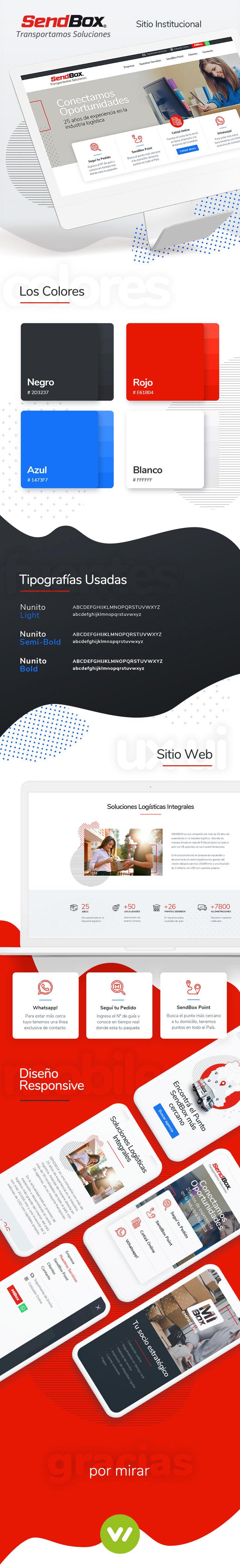Pagina Web empresa de logistica