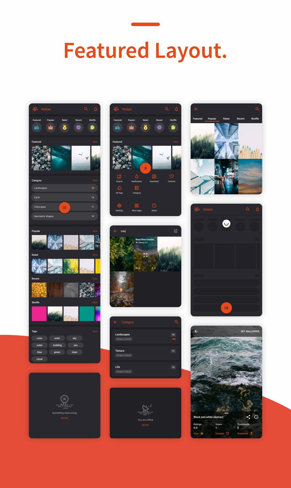 Walper - Wallpaper Android Application 1.0 - 3