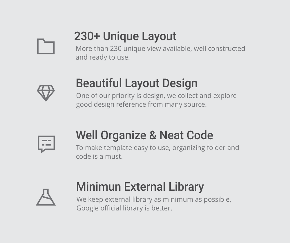 MaterialX - Android Material Design UI Components 2.5 - 4