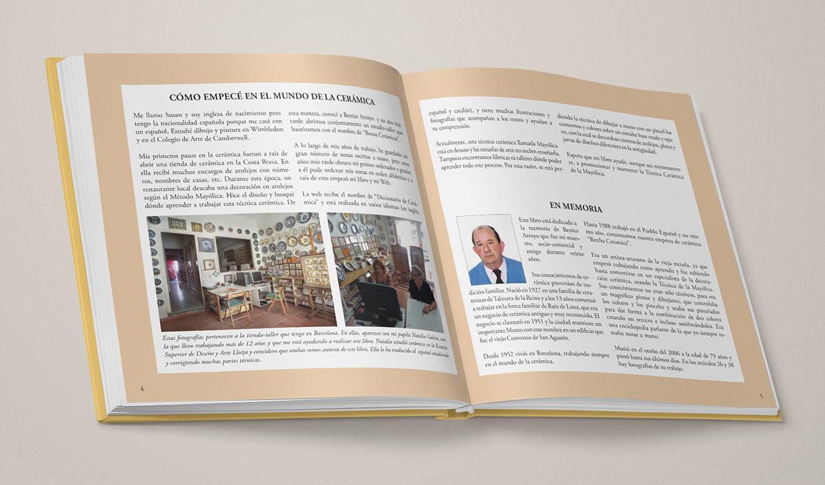 """página introductoria de """"La técnica Mayólica"""""""
