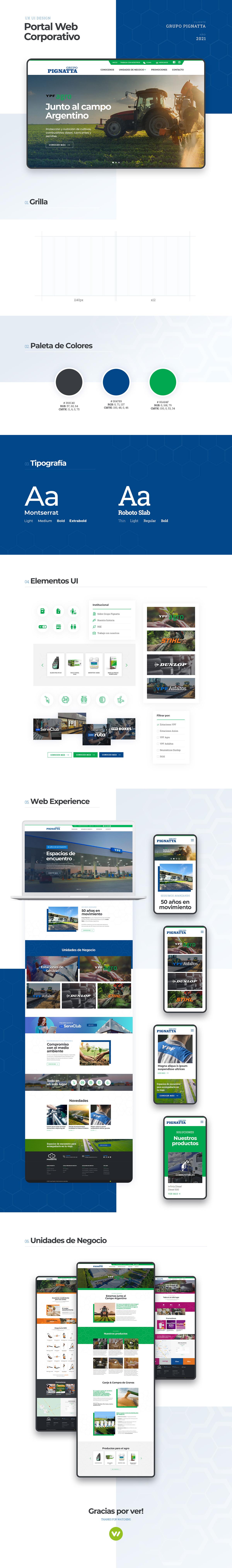 pagina Web para Grupo Estaciones de Servicio