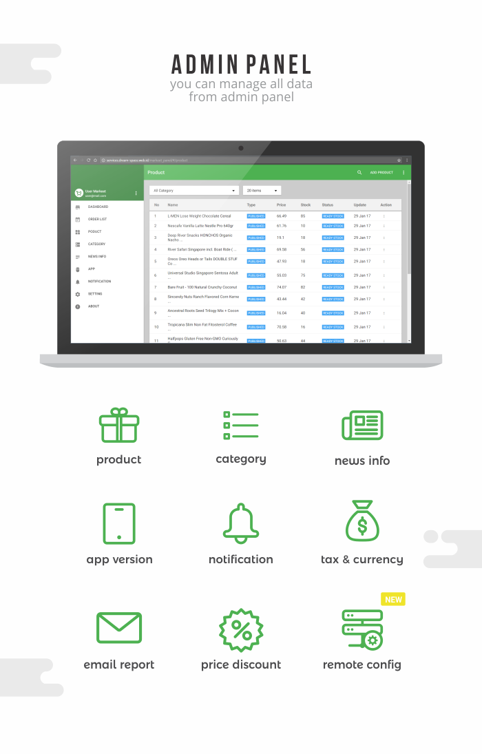 Markeet - Android Online Store 2.3 - 3