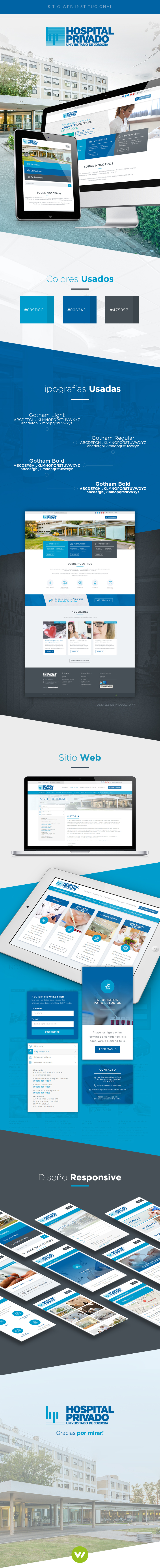 Pagina Web Hospital