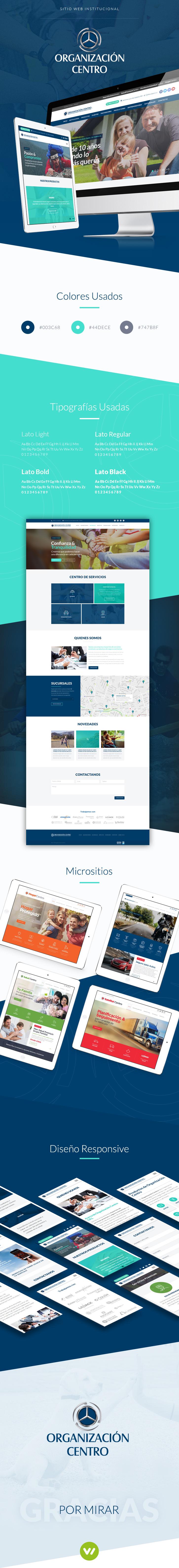Pagina Web corporativa para empresa de servicios grande
