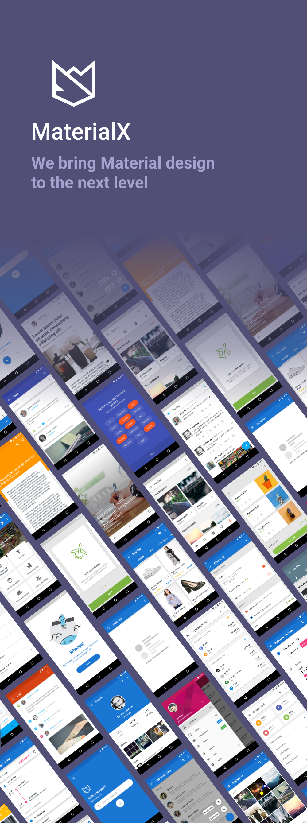 MaterialX - Android Material Design UI Components 2.5 - 2