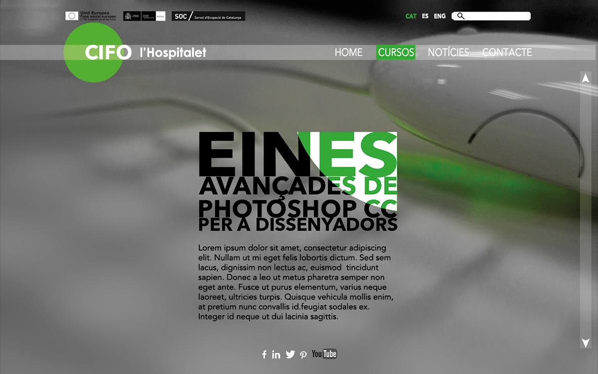 web de CIFO