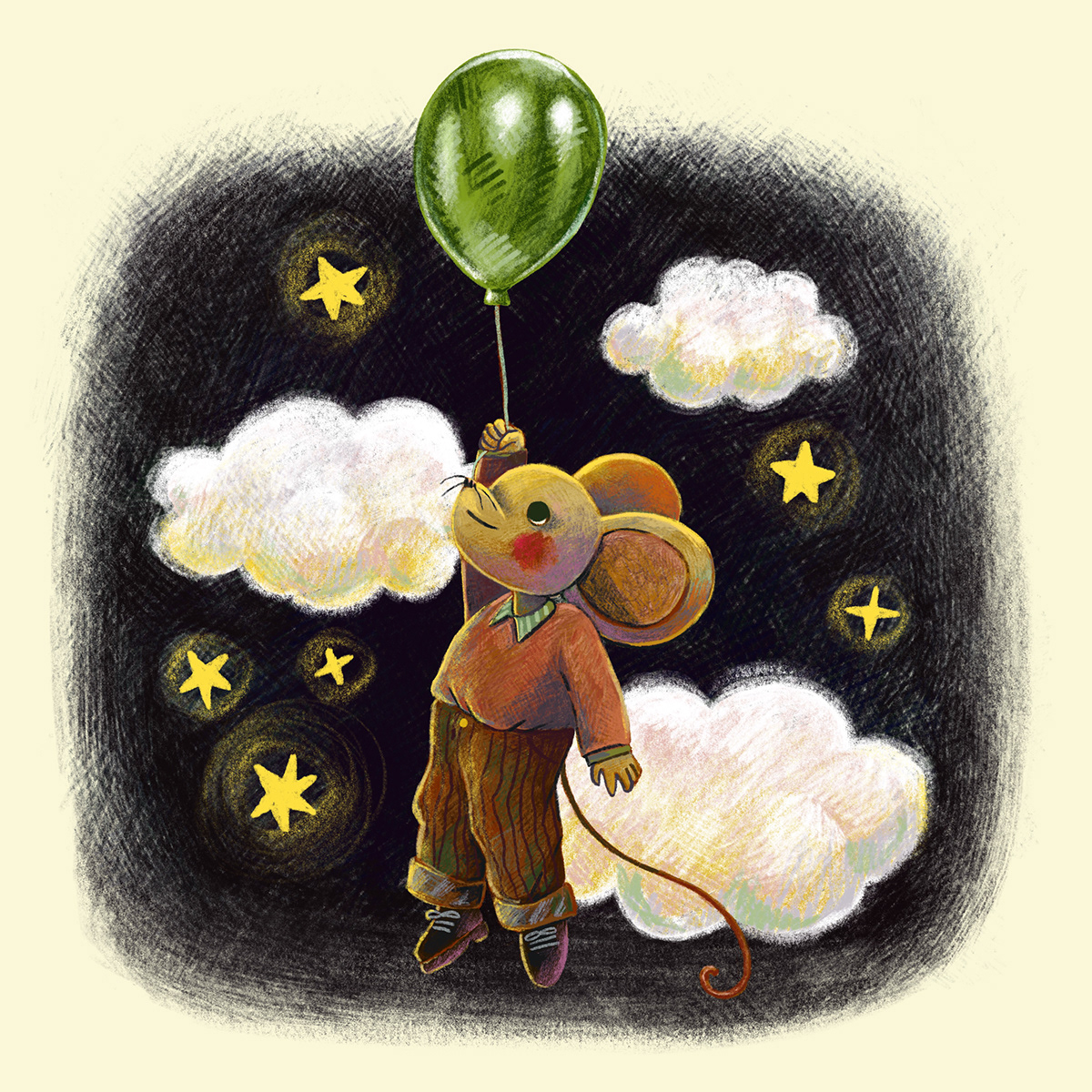 children's illustration ILLUSTRATION  kidlitart Mouse illustration Procreate