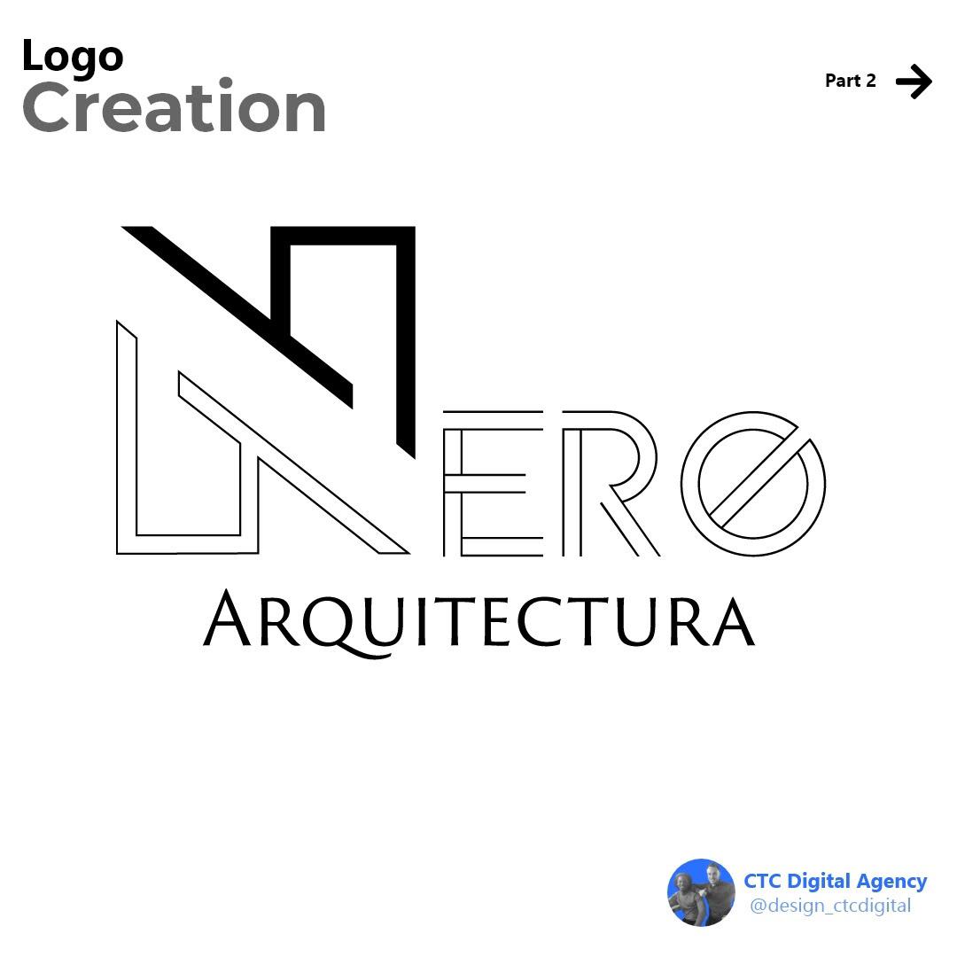 brand identity branding  Interface logo Logo Creation monochrome