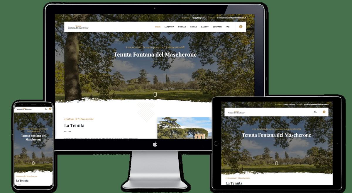 CTA landing page Web Design
