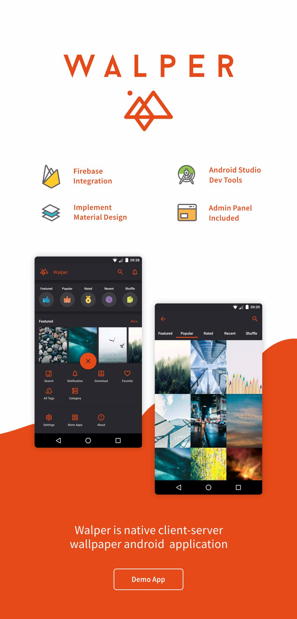 Walper - Wallpaper Android Application 1.0 - 1