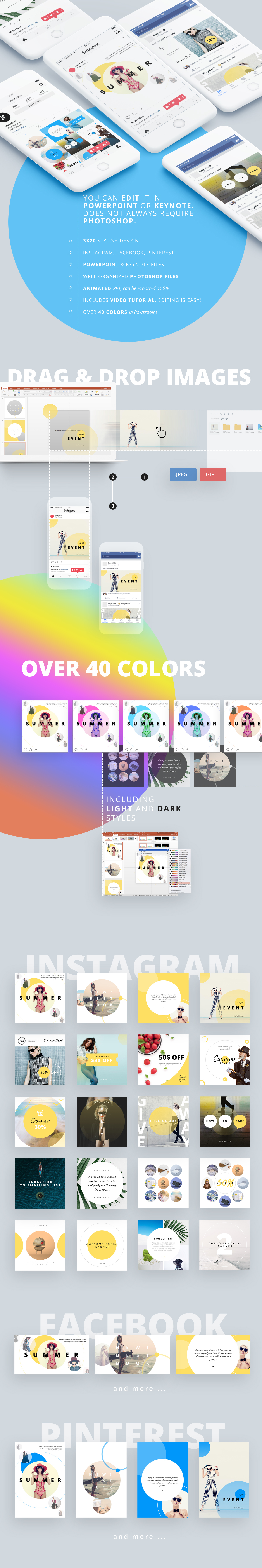 ravi animated social media pack by shapeslide graphicriver