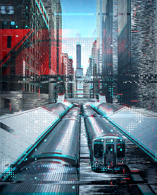 Animated Glitch 2 - Photoshop Action - 25